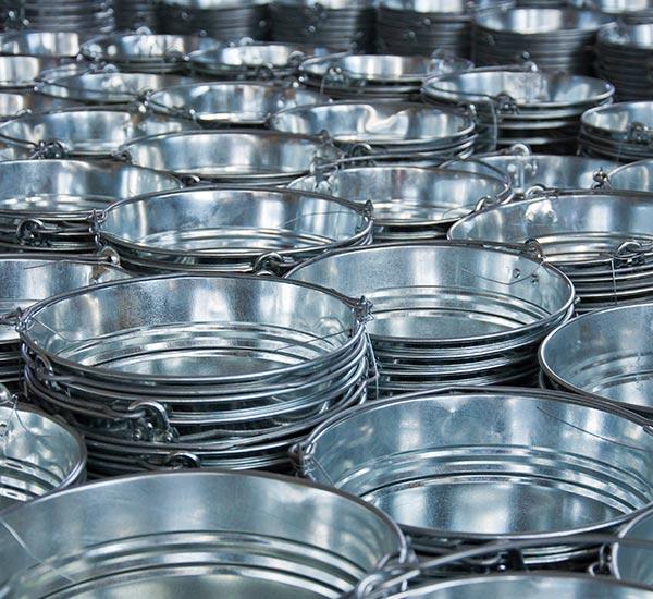 Galvanized Steel Buckets